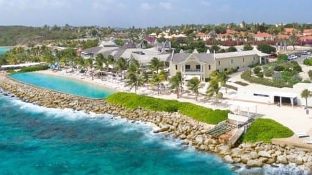 beach resort op Curaçao
