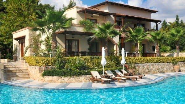 luxe vakantiehuis