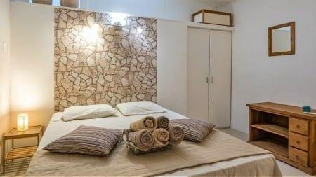 slaapkamer Villa Kolibrie Curaçao Piscadera Bay Resort