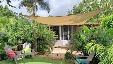 Villa Kolibrie Curaçao heeft een heerlijke tuin