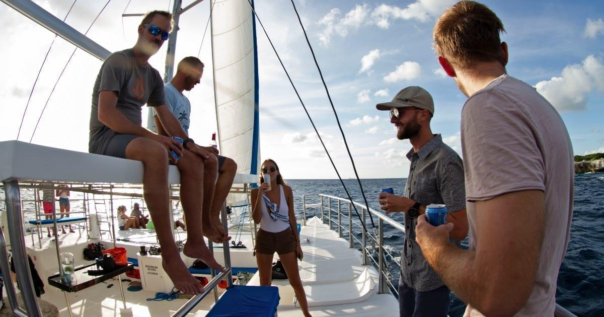 sunday funday catamaran