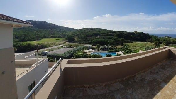 curacao appartement Green View met mooi uitzicht