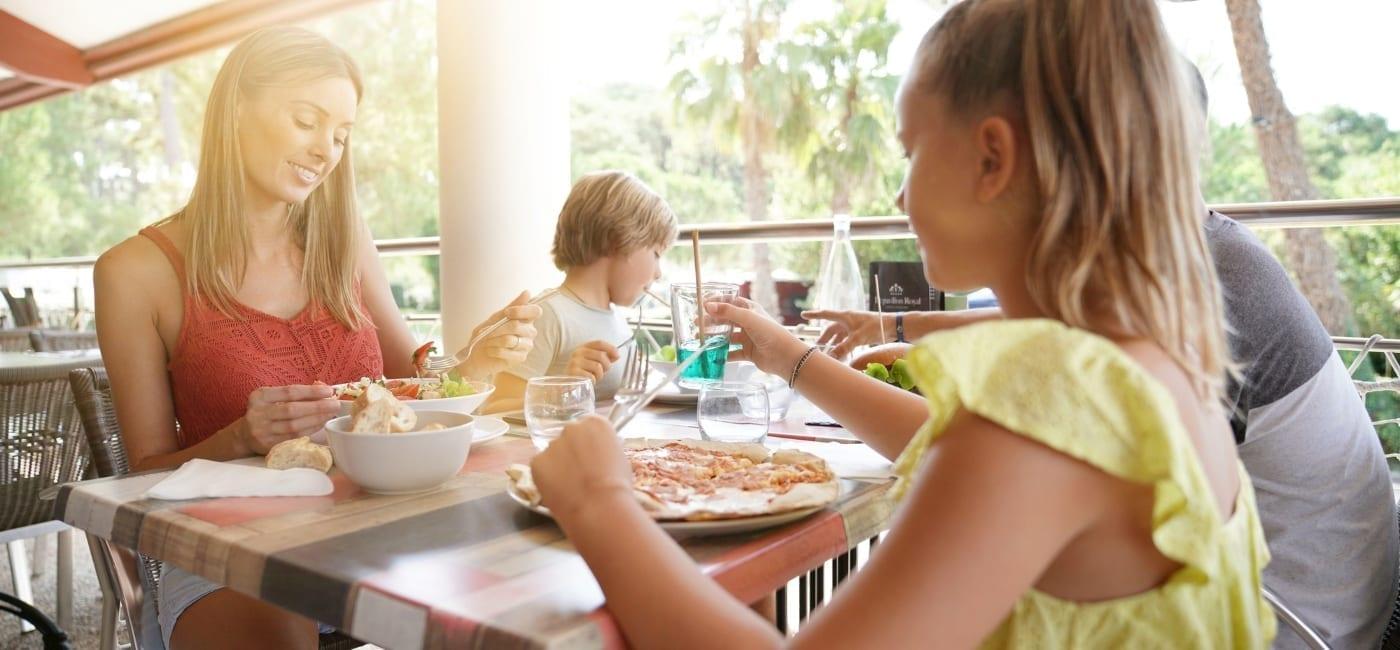 curacao uit eten met gezin