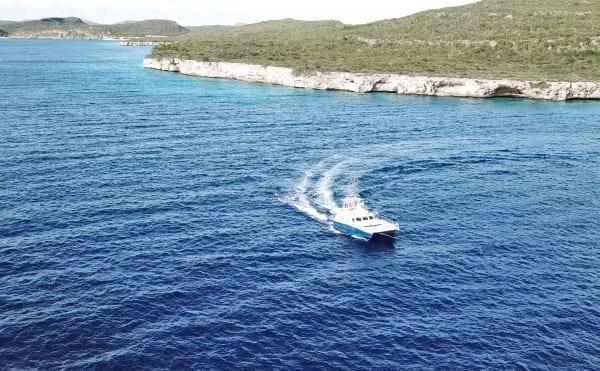 catamaran curacao blue c