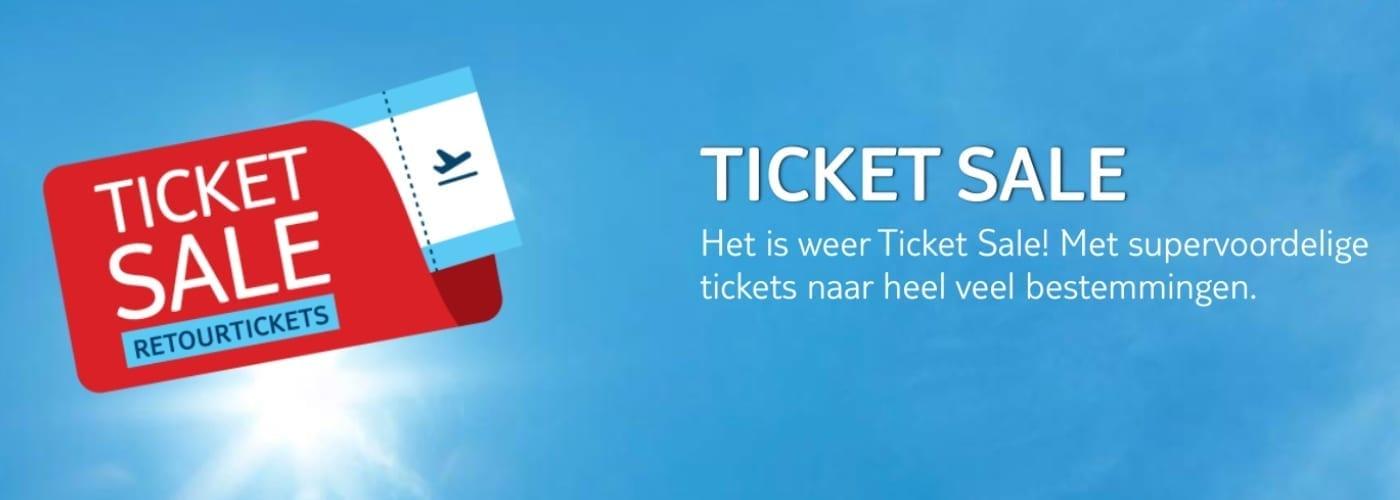 TUI Ticket Sale - goedkoop naar Curaçao