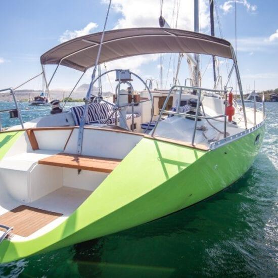 zeilboot curacao luxe all-inclusive