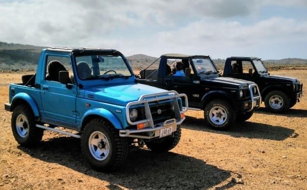 jeep rijden curacao off-road tour