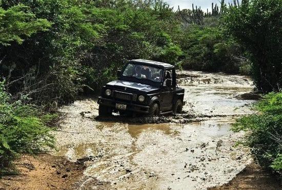 off-road curacao tour zelf rijden