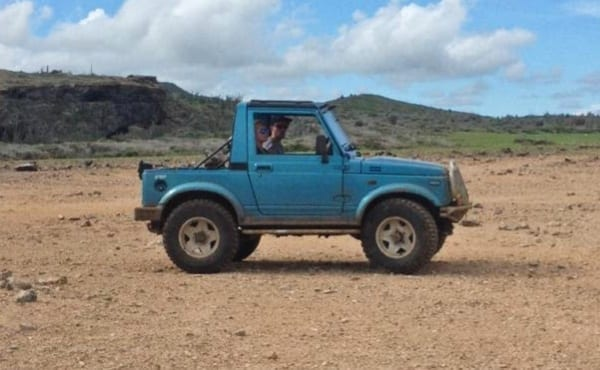 jeep off-road tour curacao