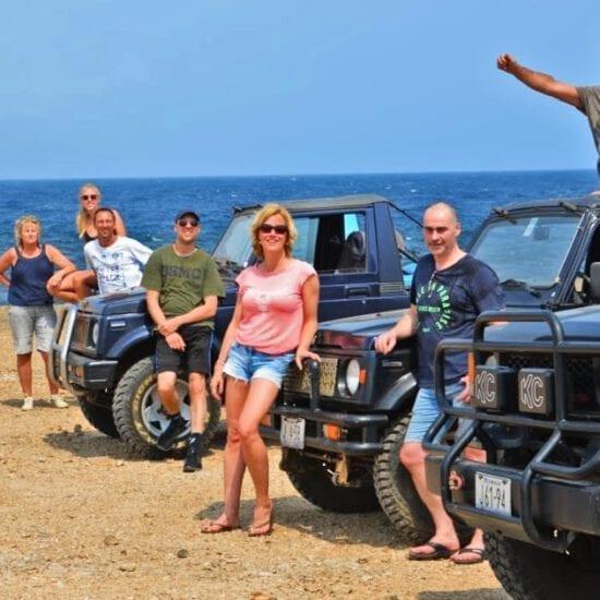 off-road tour curacao jeeps zelf rijden