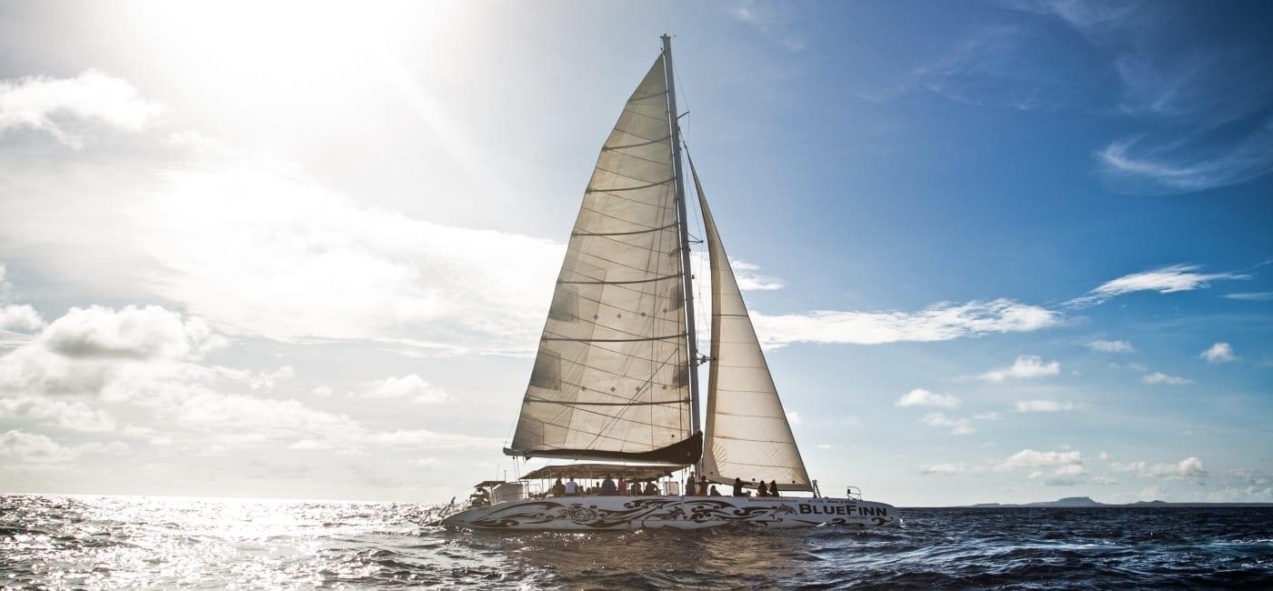 catamaran op curacao