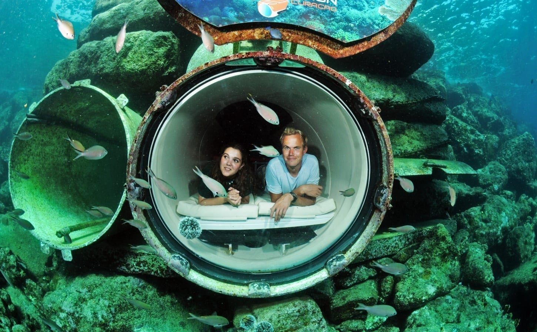 ocean lens curacao sea aquarium park