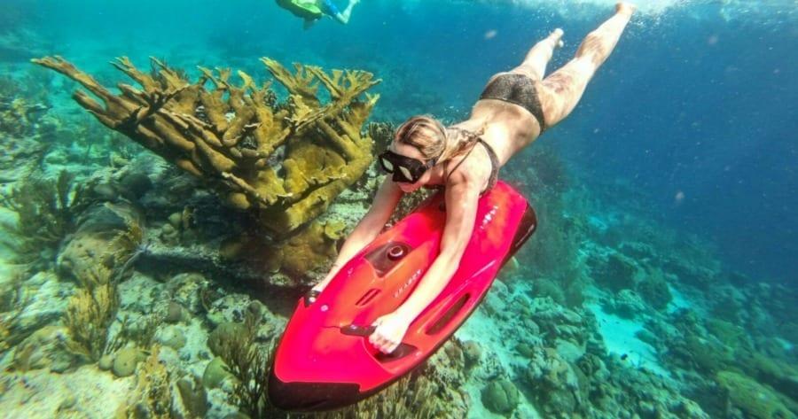 seabob curacao koraal